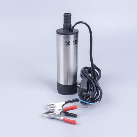 30 l min DC 21V 24V 38mm transfer refueling mini submersible pump diesel fuel engine oil extractor delivery pump external filter