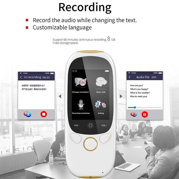 K1 Portable 45 Languages Smart Voice Translator WIFI Hotspot Two-way Translation Machine for Learning Travel Business Meeting
