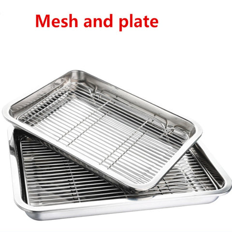 Wire Steaming Kebab Barbecue Mesh Rack BBQ