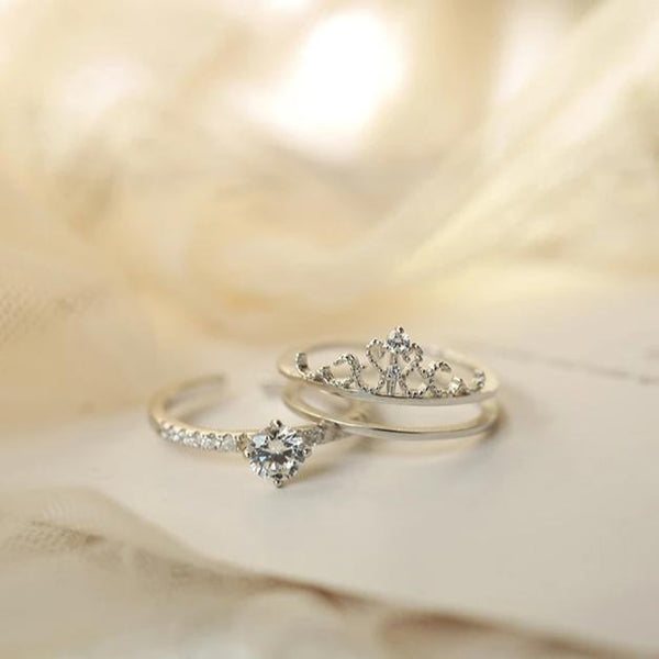 Crown Ring Set 015 - Abbott Atelier