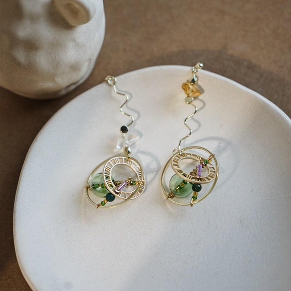 Time Machine Earrings 122 - Abbott Atelier