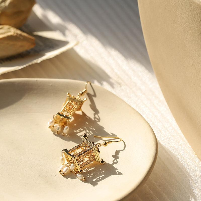 Pavilion Earrings 089