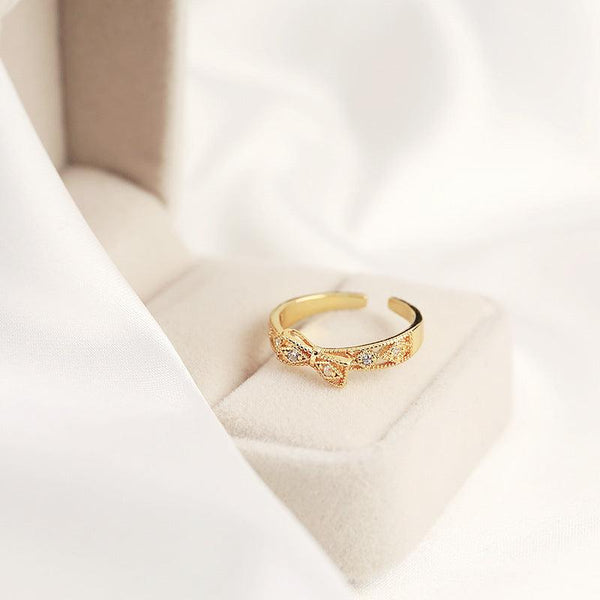Bow Ring 012 - Abbott Atelier