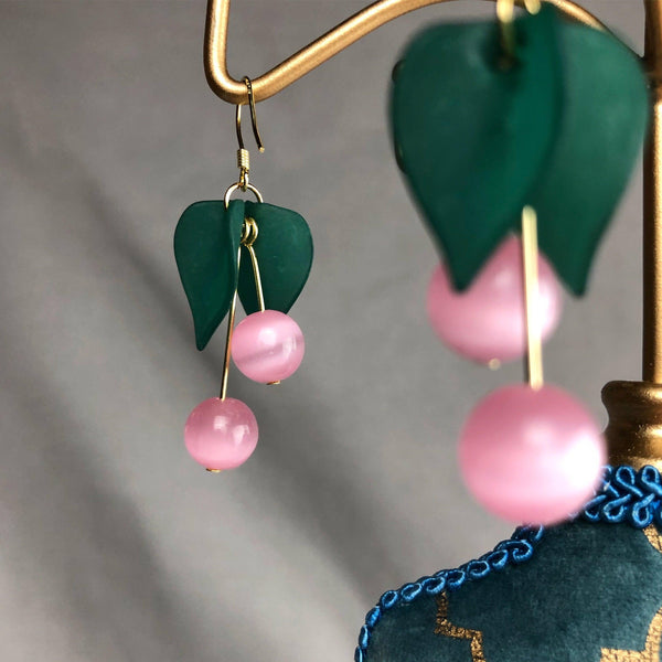 Cherry Earrings 003 - Abbott Atelier