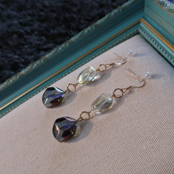Chrome Crystal Earring 009 - Abbott Atelier