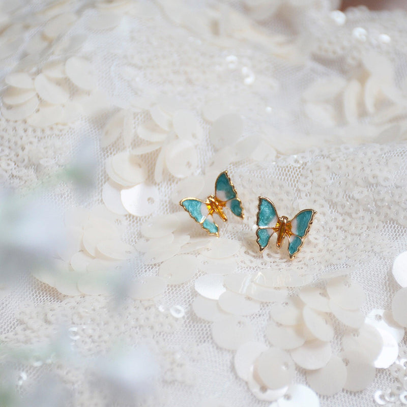 Butterfly Stud Earrings 016 - Abbott Atelier