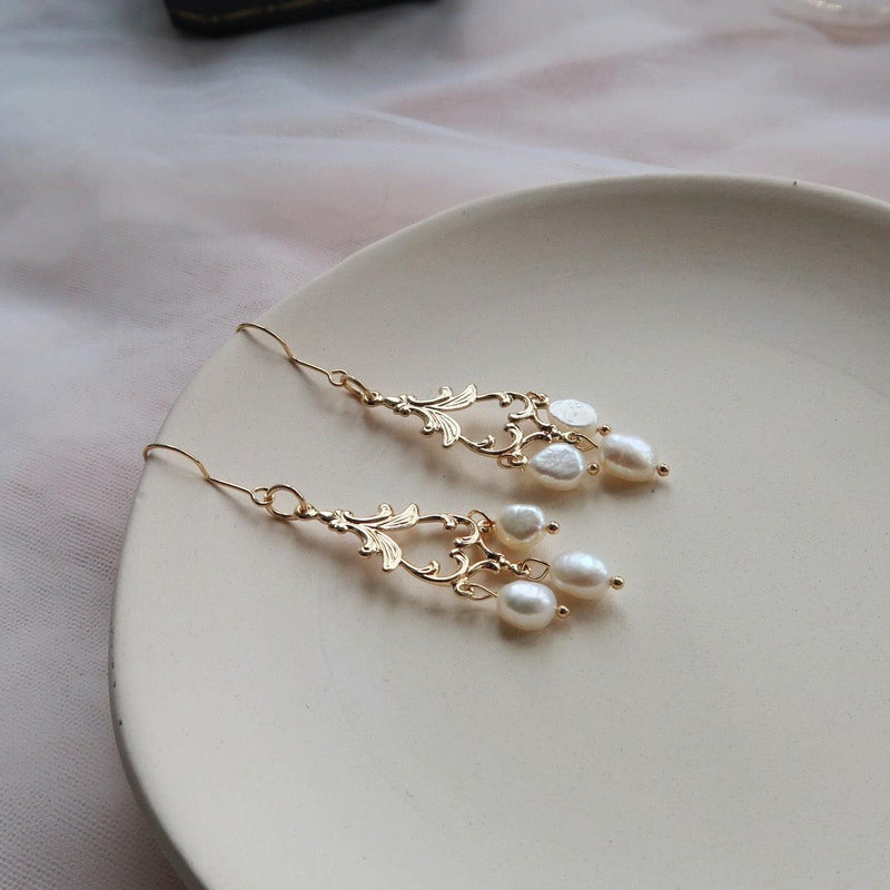 Baroque Earrings 018 - Abbott Atelier