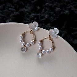 Chrome Flower Earring 025 - Abbott Atelier