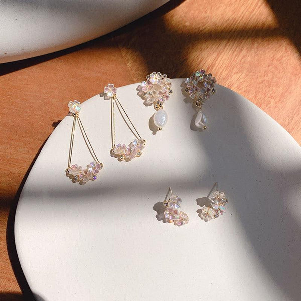 Shell Flower Earring 041 - Abbott Atelier