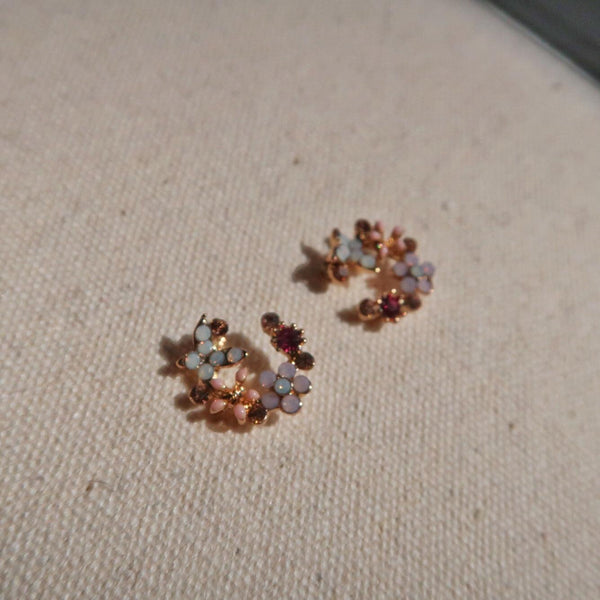 Flower & Butterfly Stud Earrings 050 - Abbott Atelier