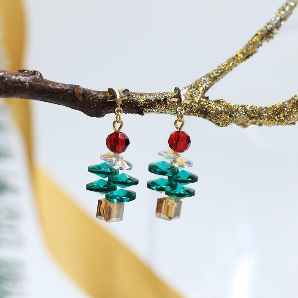 Christmas Tree Earrings 069 - Abbott Atelier