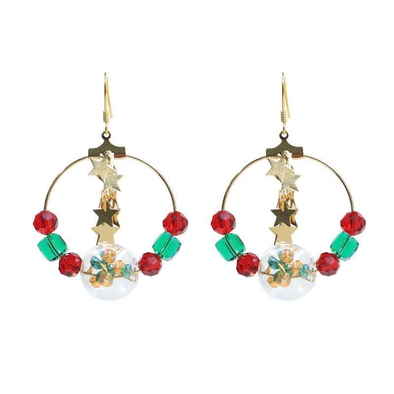 Christmas Lights Earrings 071 - Abbott Atelier