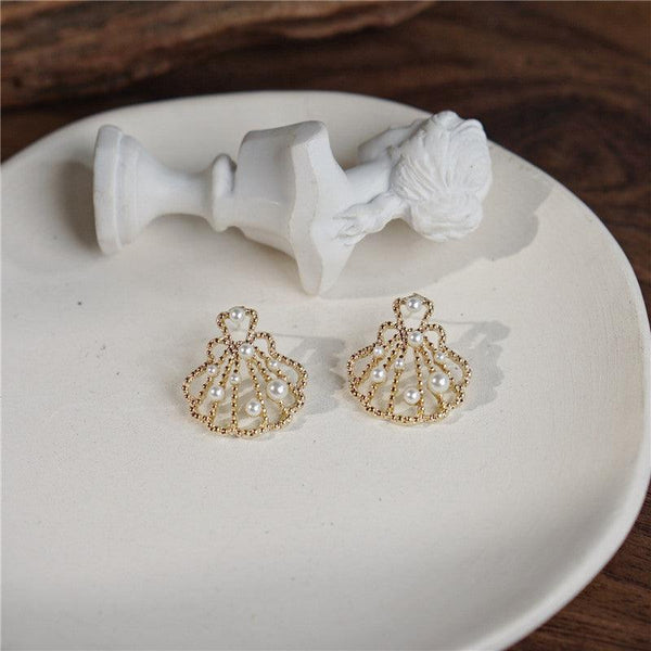 Shell Earrings 079 - Abbott Atelier