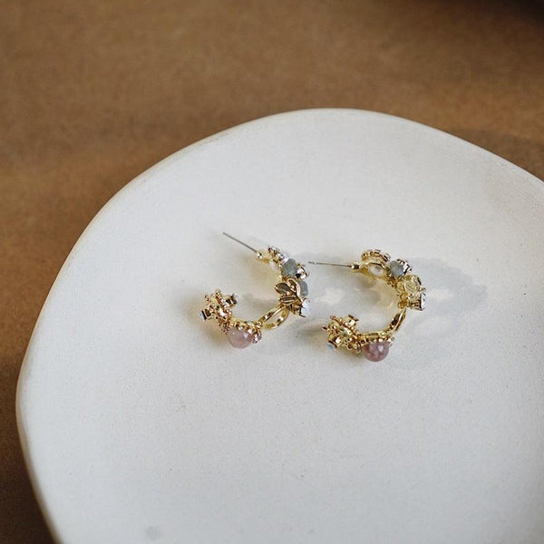 Baroque Hoop Earrings 120 - Abbott Atelier