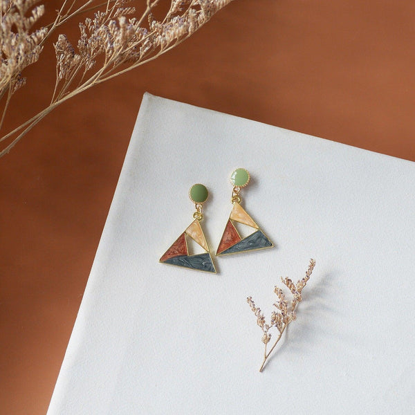 Color Block Earrings 141 - Abbott Atelier