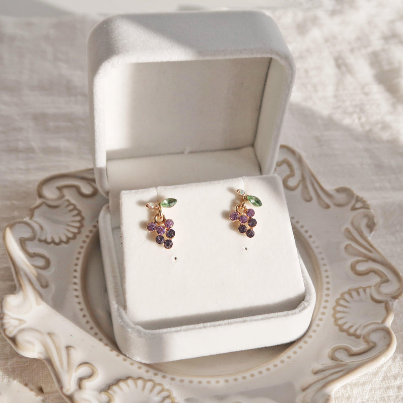 Grape Earrings 147 - Abbott Atelier