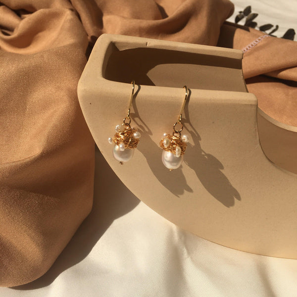 Pearl Earrings 165 - Abbott Atelier