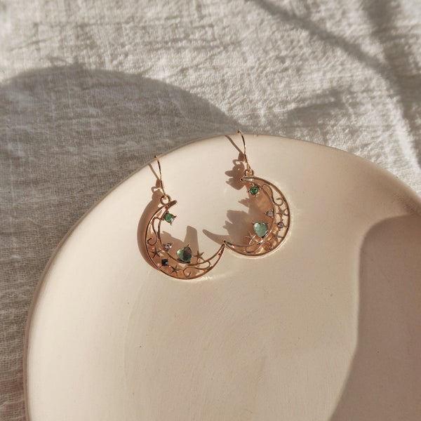 Moon Earrings 170 - Abbott Atelier