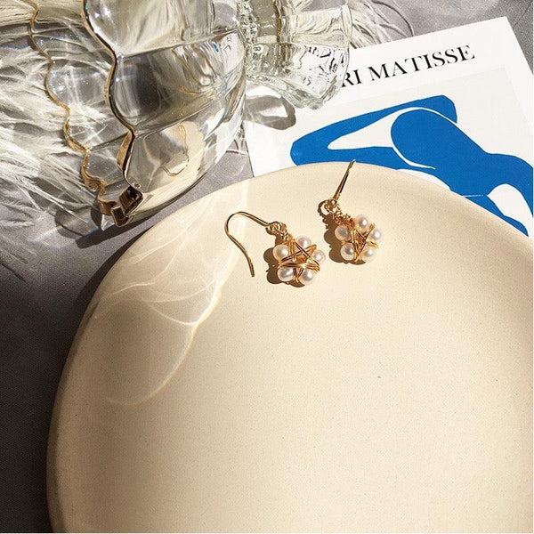 Star & Pearl Earrings 178 - Abbott Atelier