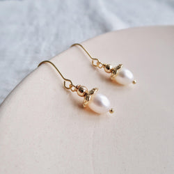 Baroque Pearl Earrings 186 - Abbott Atelier