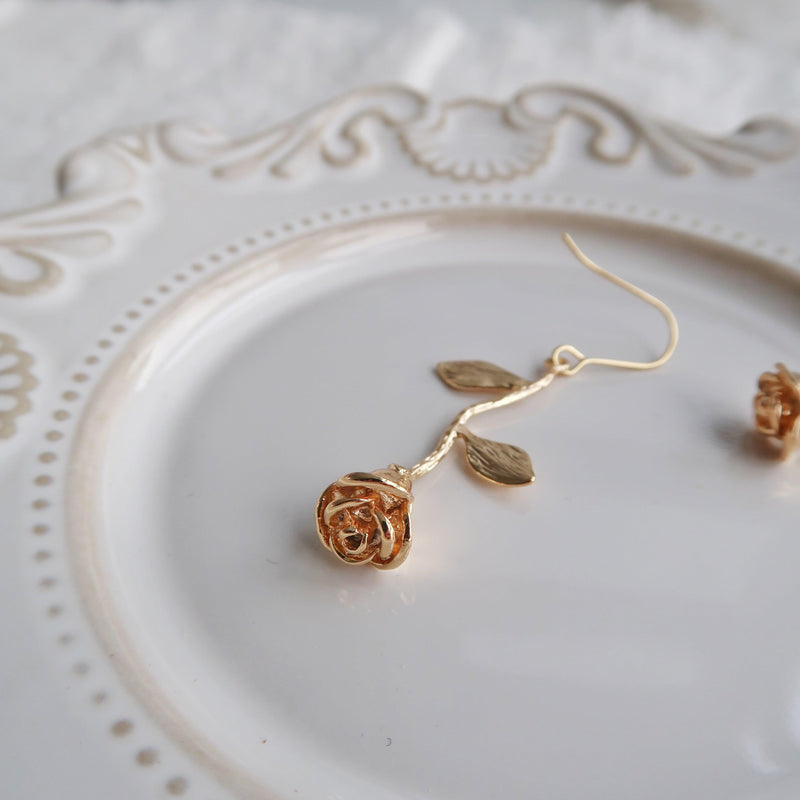 Rose Earrings 187 - Abbott Atelier