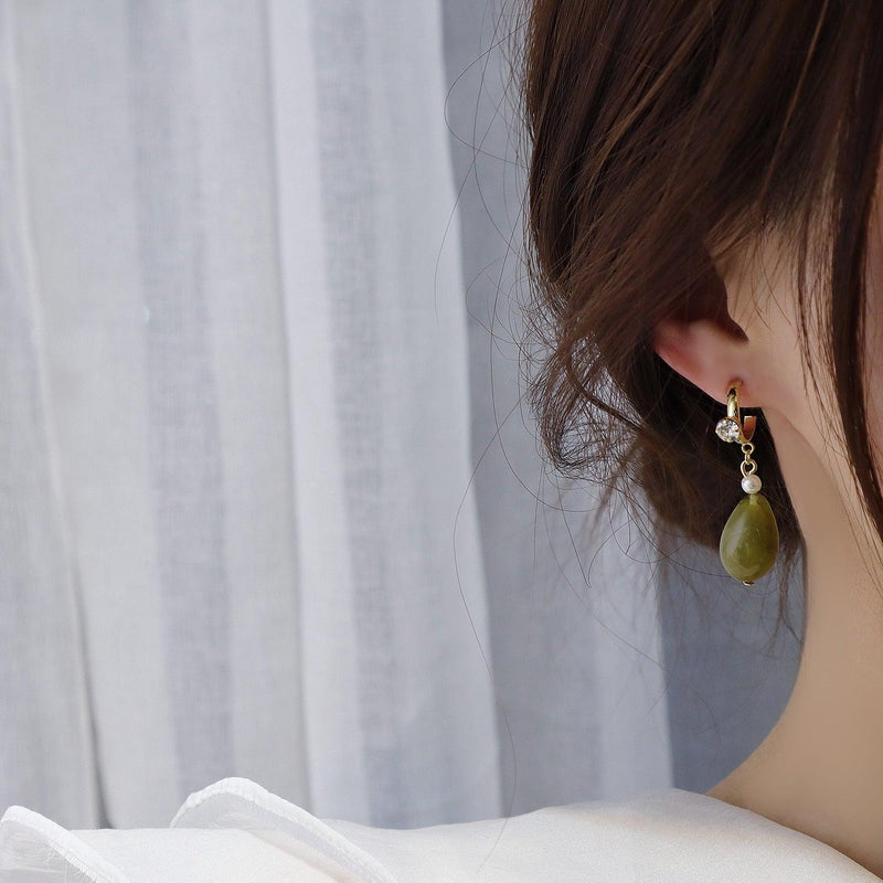 Eco-Resin Earrings 230 - Abbott Atelier