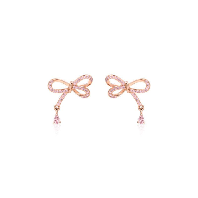 Bow Stud Earrings 234 - Abbott Atelier