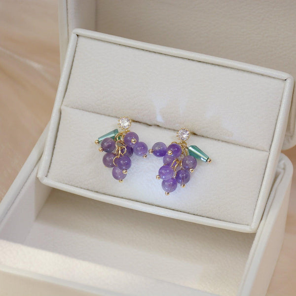 Grape Earrings 273 - Abbott Atelier