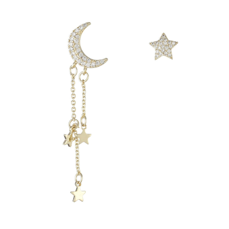 Moon & Star Earrings 280 - Abbott Atelier