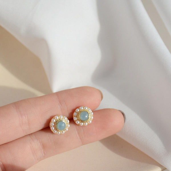 Baroque Stud Earrings 299 - Abbott Atelier
