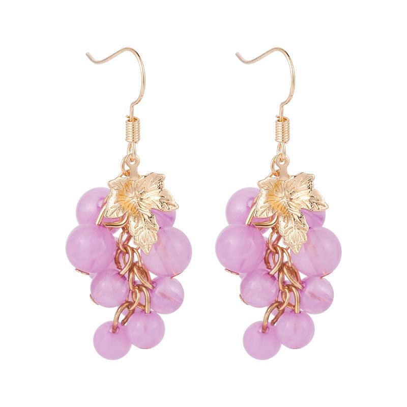 Grape Earrings 301 - Abbott Atelier