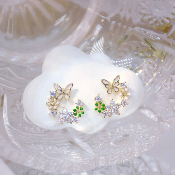 Butterfly Stud Earrings 314
