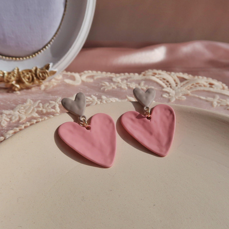 Heart Earrings 339