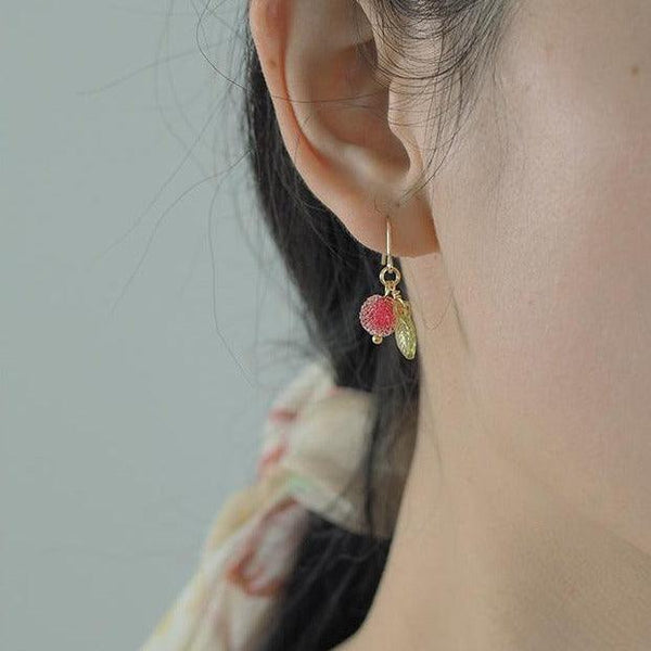 Berry Earrings 343