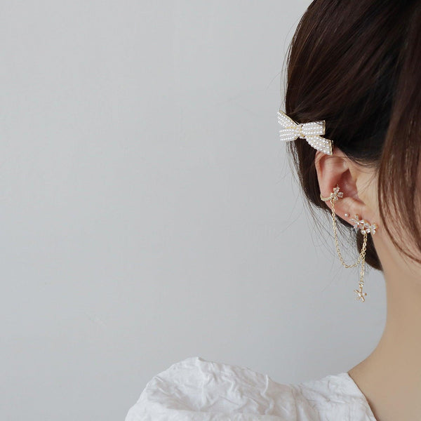 Flower & Butterfly Ear Cuff 348