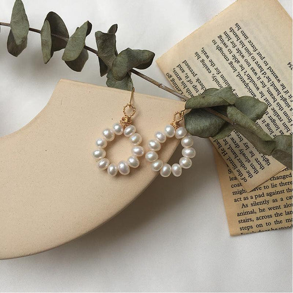 Pearl Earrings 349