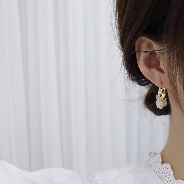 Baroque Hoop Earrings 354