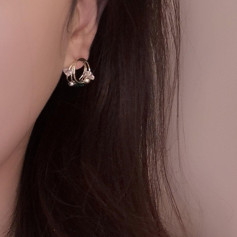 Crystal Earrings 357
