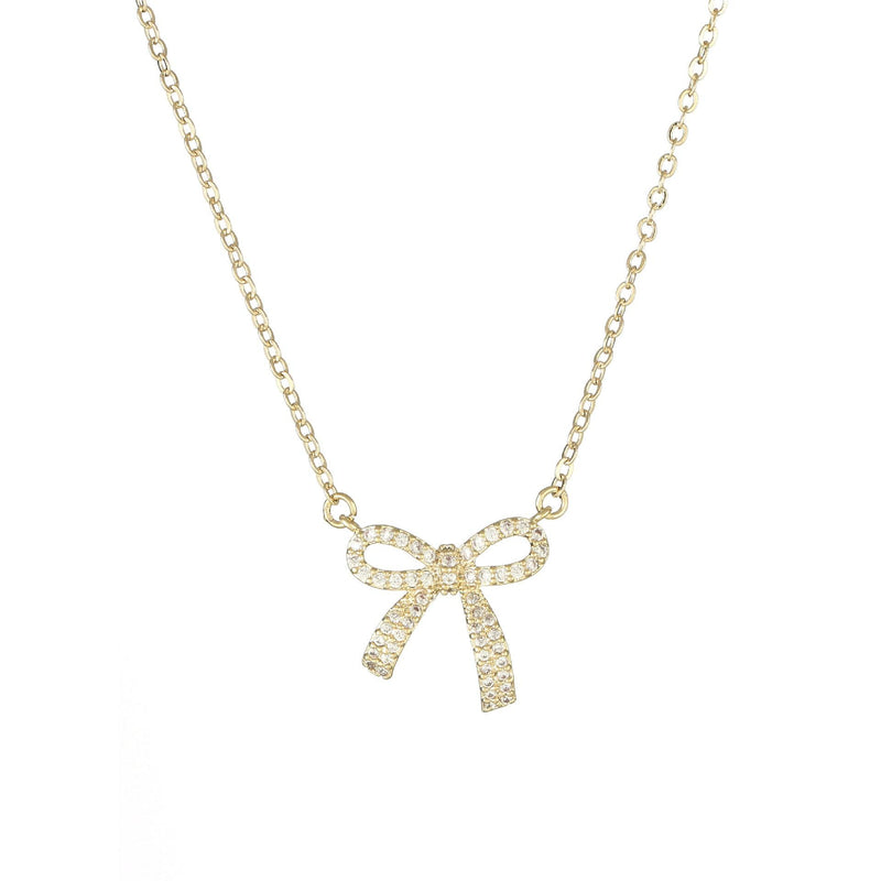 Bow Necklace 021 - Abbott Atelier