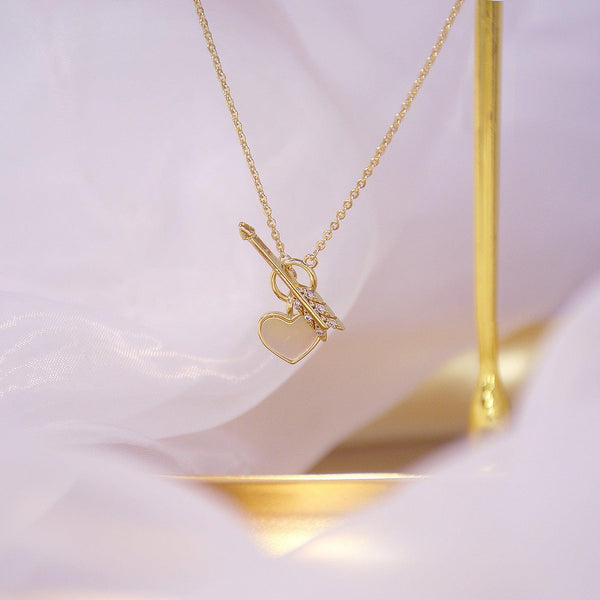 Heart & Arrow Necklace 031