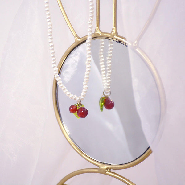 Cherry Necklace 032