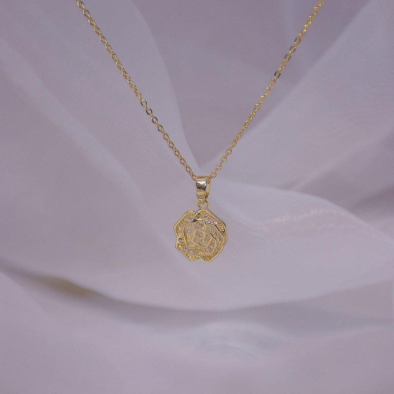 Rose Necklace 042