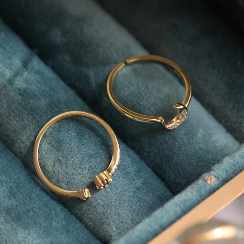 Moon Ring Set 011 - Abbott Atelier