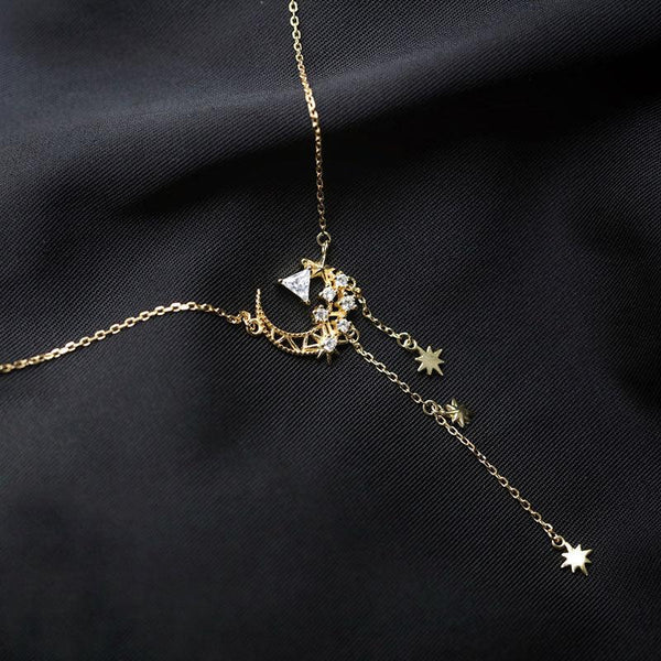 Moon & Star Necklace 017 - Abbott Atelier