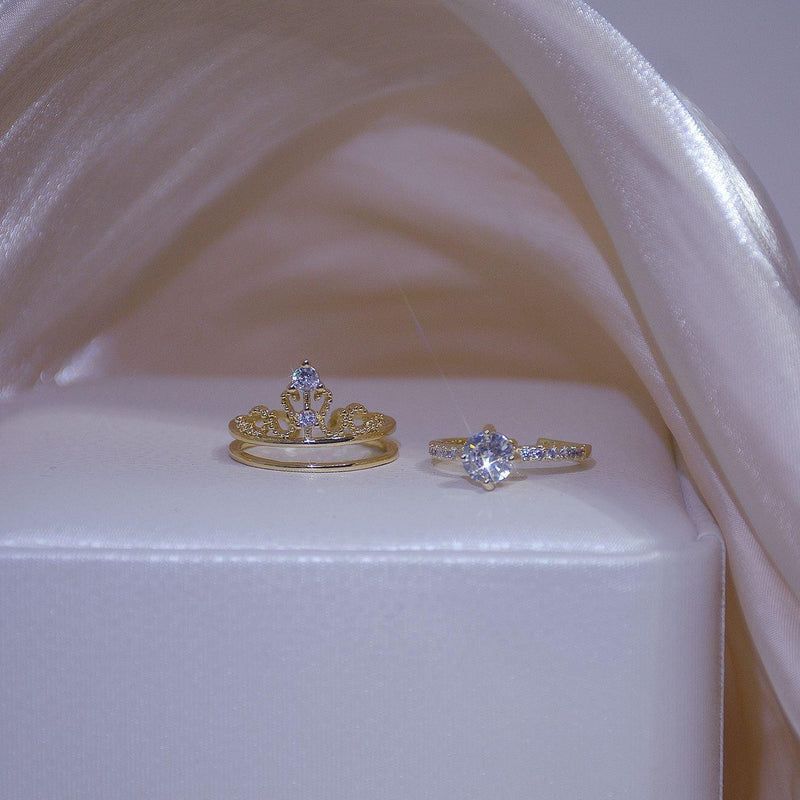 Crown Ring Set 023 - Abbott Atelier