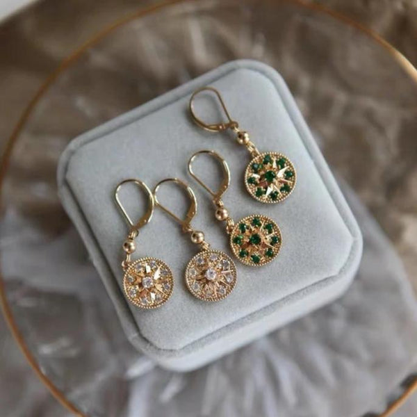 Star Huggie Earrings 206 - Abbott Atelier