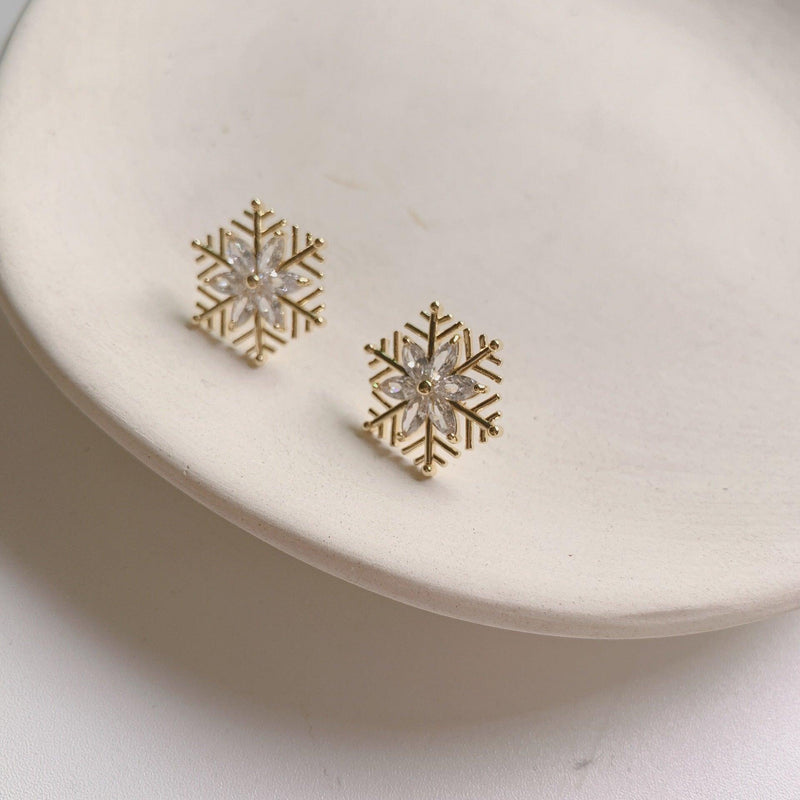 Snowflake Earrings 222 - Abbott Atelier