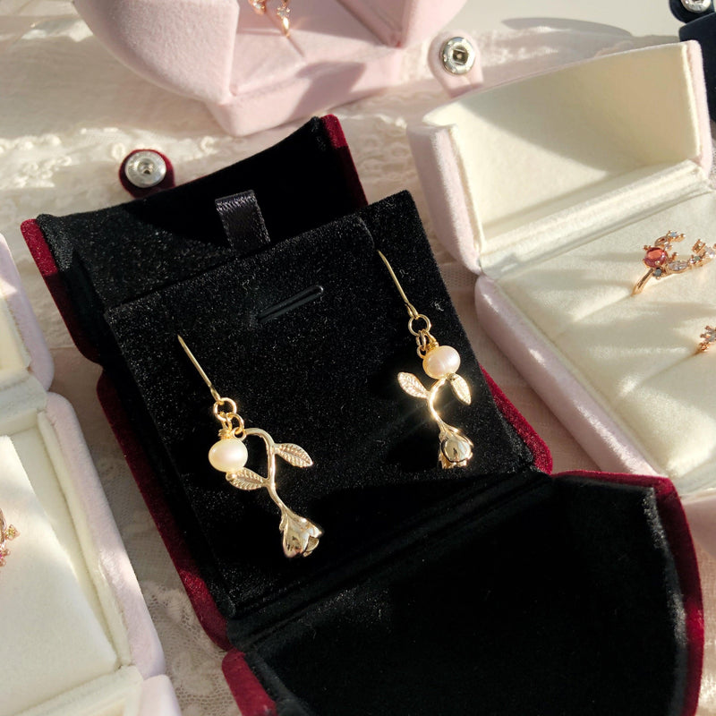 Rose Earrings Gift Set 001 - Abbott Atelier