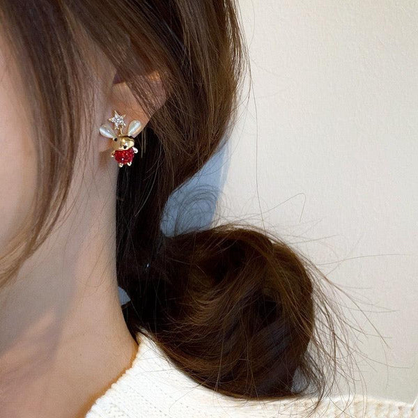 Year of the Mouse Earrings 059 - Abbott Atelier