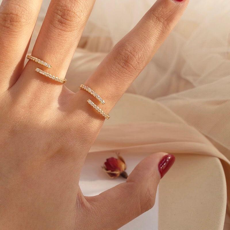 Double Layer Ring 010